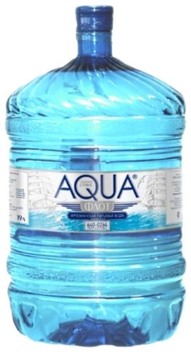 Вода - Аквафлот - ПЭТ 19 л