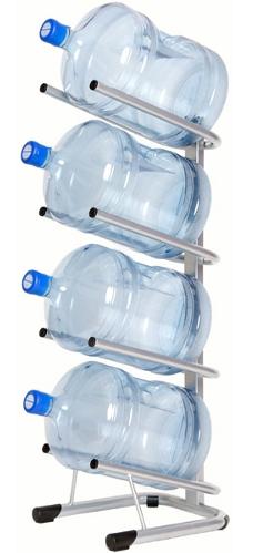 Стеллаж — подставка для 4 бутылей