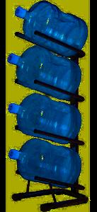 Кулер для воды Стеллаж - подставка для 4 бутылей в Москве