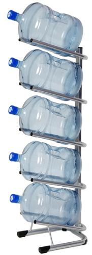 Стеллаж — подставка для 5 бутылей