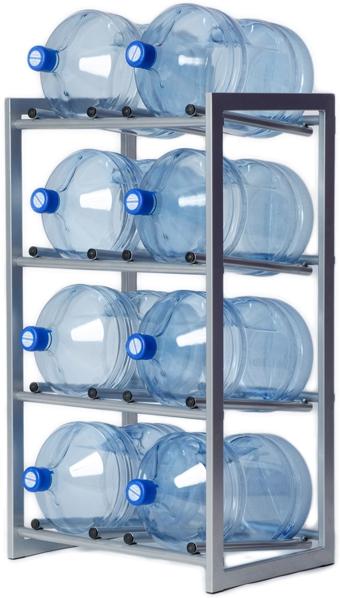 Стеллаж — подставка для 8 бутылей