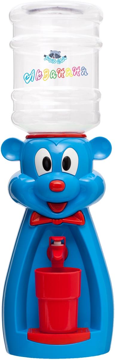 Раздатчик для воды Диспенсер «Мышка» (голубая с красным)