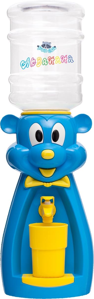 Раздатчик для воды Диспенсер «Мышка» (голубая с жёлтым)